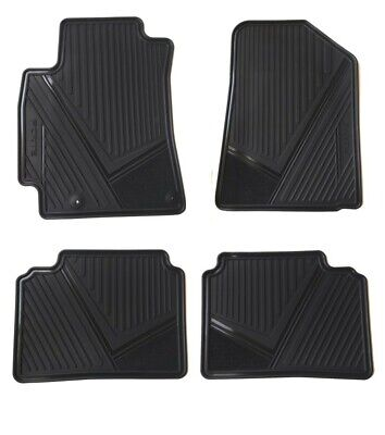 Floor Mats for cars Set of all weather OEM KIA FORTE 2019-2020 BLACK -