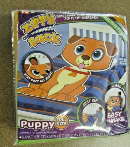 Zippy Sack Puppy Full Size