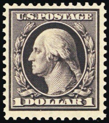 342, Mint $1 VF OG LH Well Centered Stamp With PFC Cert - Stuart Katz