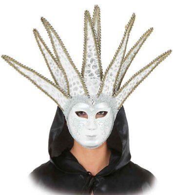 Damen Herren Venezianischen Maske Mardi Gras Masquerade Harlequin - Herren Mardi Gras Maske