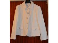 Ivory jacket size 16