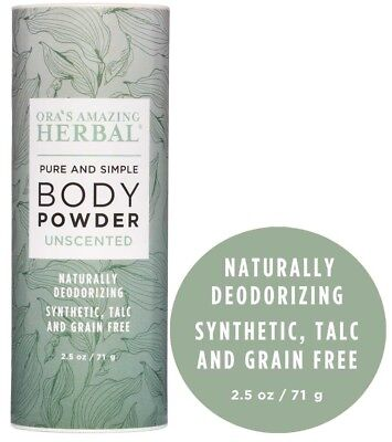 Body Powder Talc Free Dusting Powder Natural Deodorant Non GMO - Non Talc Powder