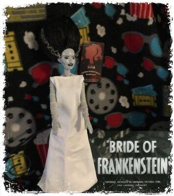 Halloween Horror Dolls (Halloween SALE! Bride Of Frankenstein CUSTOM HORROR DOLL Scary Barbie)