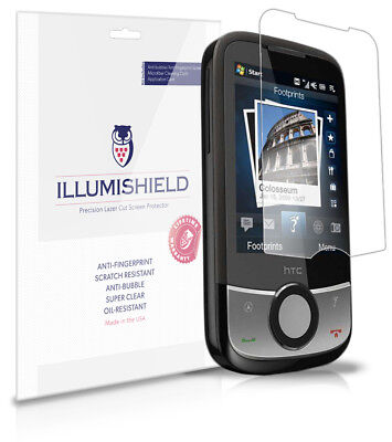 iLLumiShield Anti-Bubble/Print Screen Protector 3x for HTC Touch Cruise 2009 2009 Screen Protector