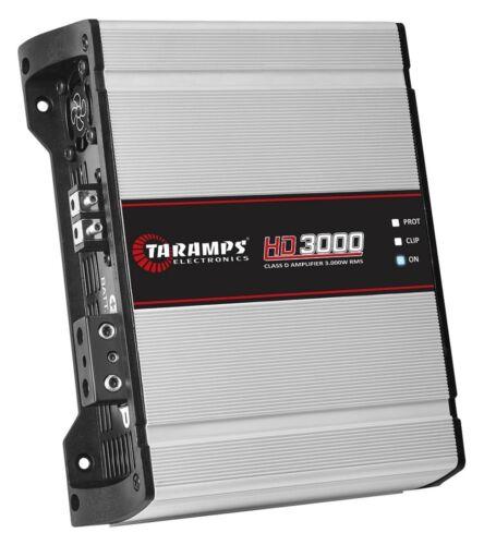 Taramps HD3000 1 Ch 3000w RMS 1 OHM w/ US warranty!