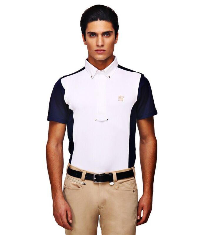 George H Morris Men's Champion Short Sleeve Show Shirt