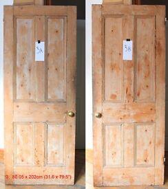 Victorian Pine Door HACKNEY