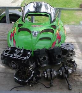PARTING OUT 1999 ARCTIC CAT ZR 700