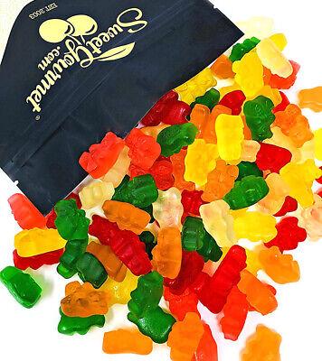 Fat Free Sugar Free Sugar (SweetGourmet Assorted Sugar Free Gummi Bears   Bulk Candy  Fat, Gluten, MSG Free )