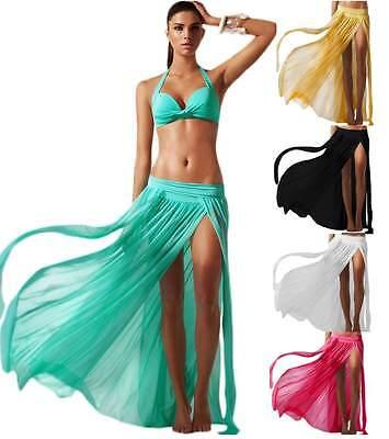 Gonna lunga da spiaggia mare copri costume bagno pareo da donna in tulle