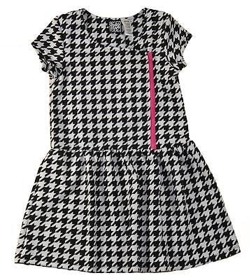Pogo Club Big Girls Houndstooth Print Dress Size 7 8 10 12 14 16  44