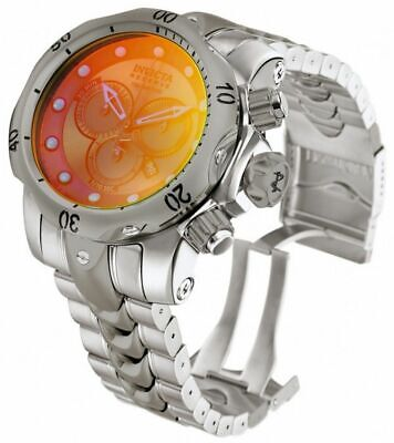 Invicta Venom 0967 Men's Round Chroniograph Date Tinted Lens Analog Watch