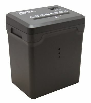 Texet Electric Desktop Paper Shredder Cross Cut Shredding Cards Documents Cc3ldt