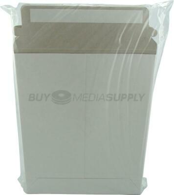 White 9 X 7 Self Seal Cardboard Mailer