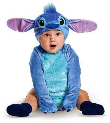 Licensed Disney Lilo And Stitch Deluxe Infant Boy Halloween Costume