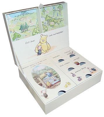 NEW Winnie The Pooh Newborn Baby Keepsake Box Memory Boy Girl Christening Gift