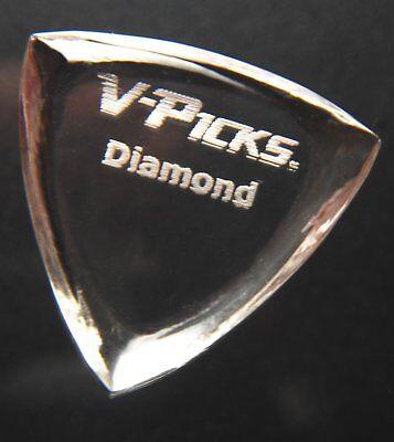 V-Picks Diamond Pointed Guitar Picks 3-Pack DIAMP3 w/Bonus RIS Pick (x1) for sale  Shipping to Canada