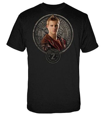Hunger Games Cato in Stone Seal Men's Tee Shirt NEW Movie Clothing Hunger Games Cato