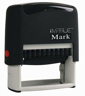 Top Selling 3 Line Business Address Self-inking Rubber Stamp By Impruemark 9012
