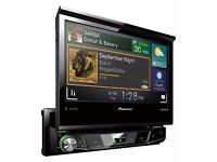 Pioneer AVH-X7700BT 7-Inch Fold Out Touch Multimedia Player with Easy Connectivity and 13 Band GEQ