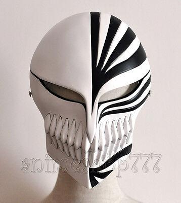Bleach Ichigo Kurosaki Cosplay Full Hollow Halloween Resin Mask High Quality