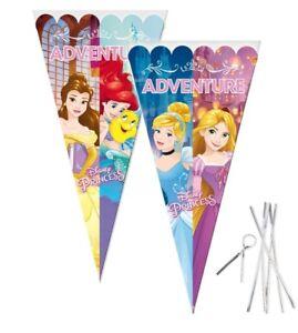 Disney-Princess-Grande-Caramelo-CELOFAN-Cono-Bolsas-Sorpresa-Fiesta-Cumpleanos