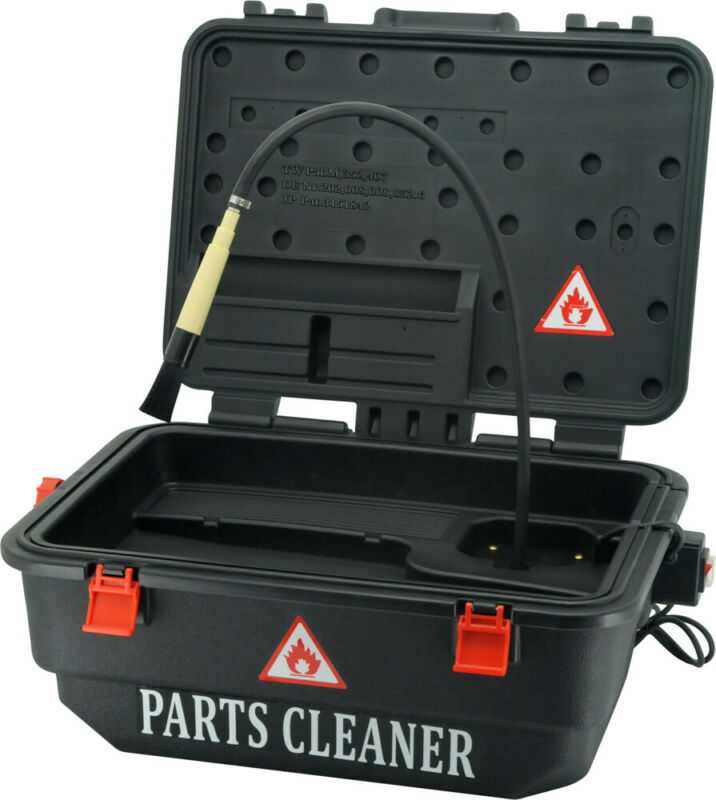 Electric Mobile Parts Washer (9 Litre) T&E Tools WH700MS