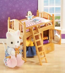 New! Calico Critters Loft Bed / Neuf! Lit
