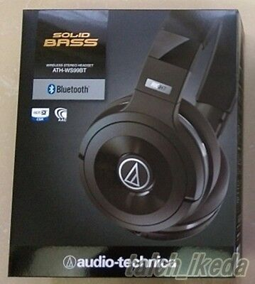 NEW audio-technica ATH-WS99BT SOLID BASS Bluetooth wireless headphones Japan