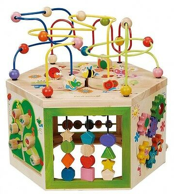 EverEarth Wooden toys multi-play set 7 in 1 Japan Import  F/S S0456