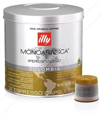Illy IperEspresso Capsules - Colombia (21 capsules)