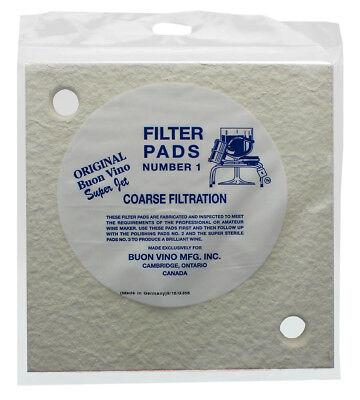 Buon Vino Super-Jet Filter Pads--Number 1 by Super-Jet