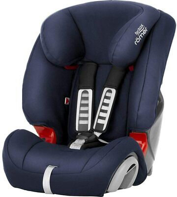 Britax Römer car seat 9-36 kg, EVOLVA 123 group 1/2/3, Moonlight Blue