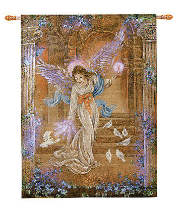 Angel of Light Tapestry Wall Hanging ~ Artist, Lena Liu ~ Final Sale No Returns