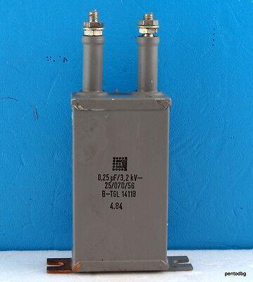 1pcs Capacitor Rft Mp 0.25uf 3.12kv 250nf 3200v Dc For Audio  Amplifier