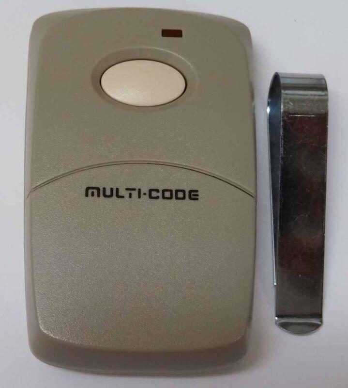 MultiCode 3089 Garage Door Opener or Gate Opener Remote Opener Transmitter 1090