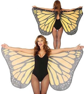 Festival Schmetterlingsflügel Umhang Damen Kostüm-Zubehör Schmetterling Flügel