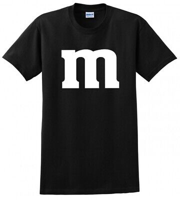 M & M Halloween Costume and Group Costumes mens funny candy Tee T Shirt - Funny Group Costumes