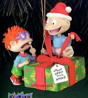 "Rugrats ""Tommy & Chuckie""   Carlton Cards Ornament SCB"