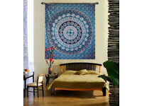 Add a charm to your walls with Mandala tapestry
