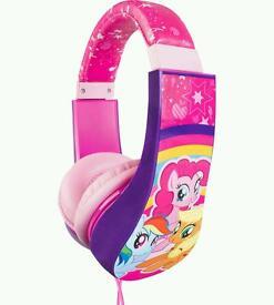 My Little Pony headphones, used once, unwanted gift