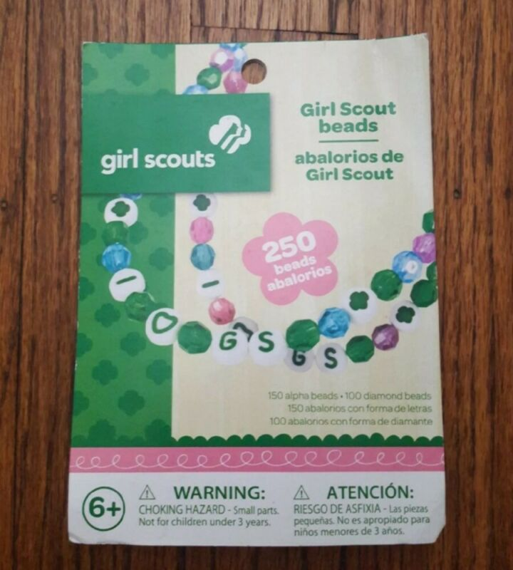 Girl Scouts Bead Craft Kit 250 Beads New