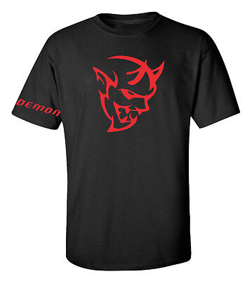 Dodge Challenger Demon Srt  T Shirt Graphic Tee  Free Shipping