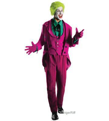 Joker Costume Batman 66 TV Classic Comic Grand Heritage 1960s Cosplay - Classic Joker Kostüm