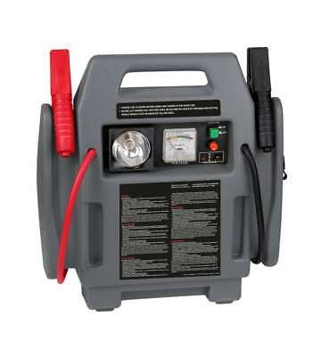 POWER STATION STARTER 4 IN 1 COMPRESSORE E AVVIATORE PORTATILE AUTOMOBILI - 1...