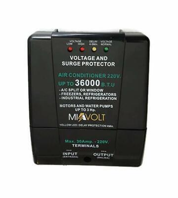 Voltage Surge Protector Split A/C brownout Refrigerators 6600W 36000BTU 220V