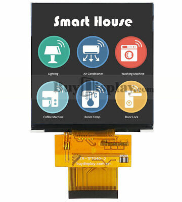 Mipi 4 Inch Tft Lcd Display 480x480 Pixels Optional Touch Panel For Iot Devices