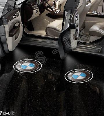 BMW CREE LED CAR LOGO GHOST SHADOW DOOR LIGHT LAMP 2 BULB SET HID - GSL007
