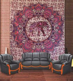 Alluring Elephant Tapestry by Handicrunch