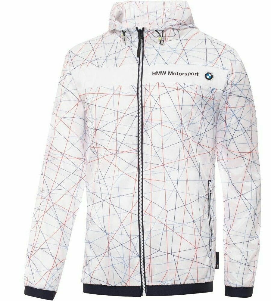 Мужская верхняя одежда Puma BMW Motorsport Lightweight Jacket Men's Size L Windbreaker NWT $140